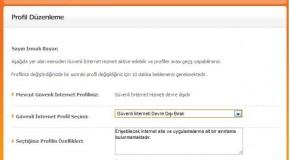 ttnet kullanıcıları için güvenli interneti devre dışı bırakmak